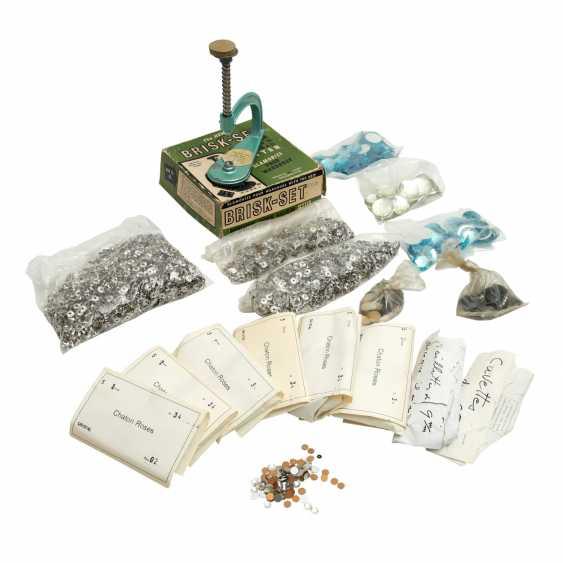 Vintage Jewelry Stone Spare Parts, 20. Century - photo 1