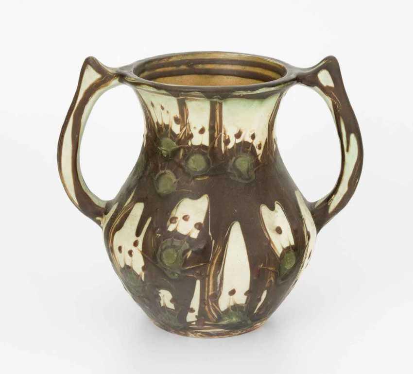 Handle Vase, Herman A. Kähler - photo 1