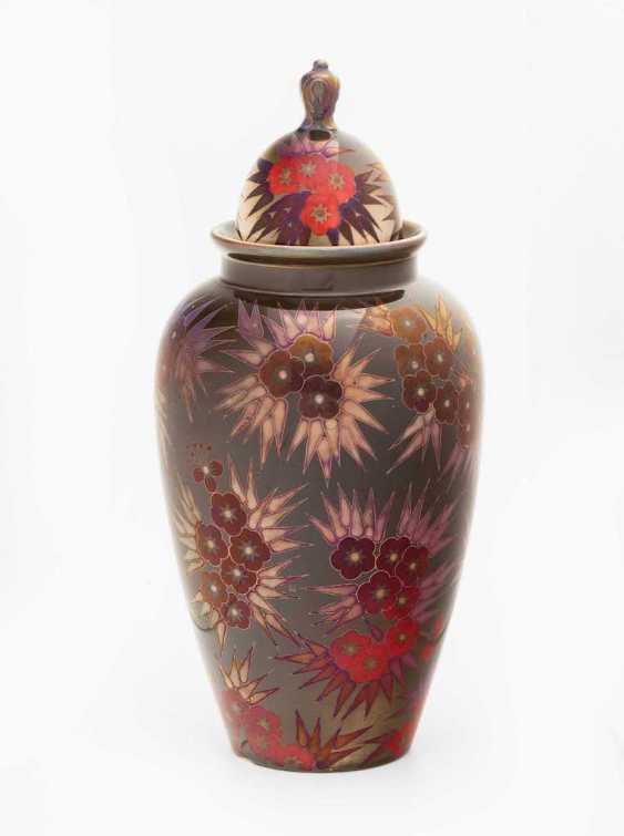 Lidded Vase, Zsolnay - photo 1