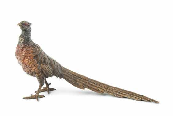 Animal Figurine: Golden Pheasant - photo 1