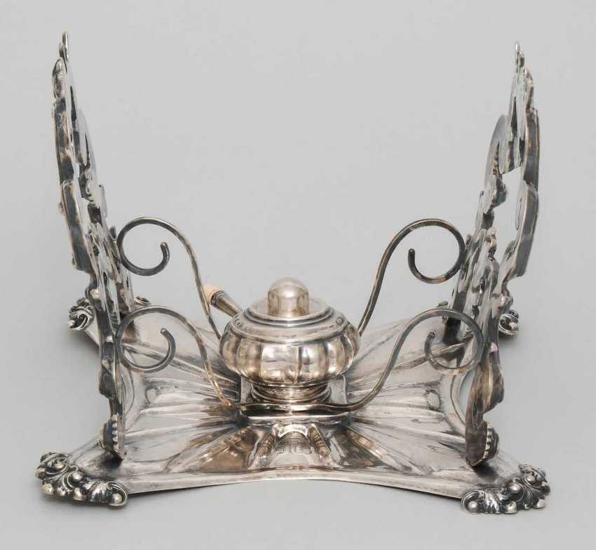 Teapot on a chafing dish - photo 4