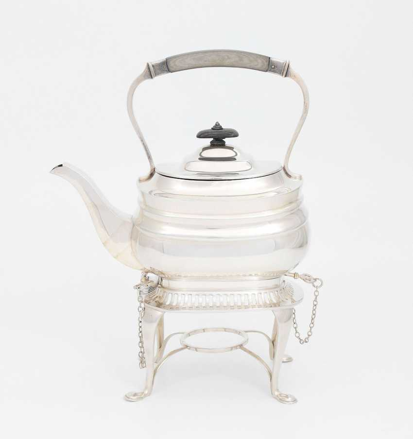 Teapot on a chafing dish - photo 1