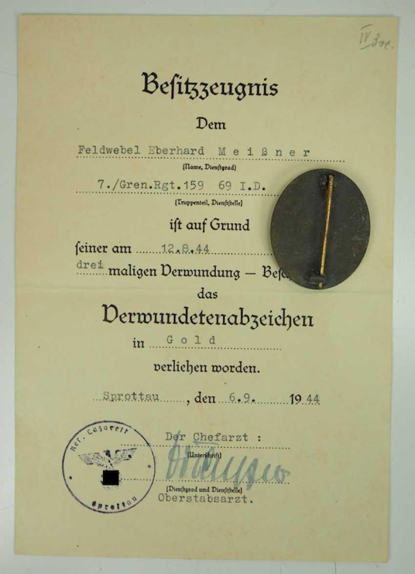 Los 475  Nachlass eines Oberfeldwebels im Grenadier-Regiment