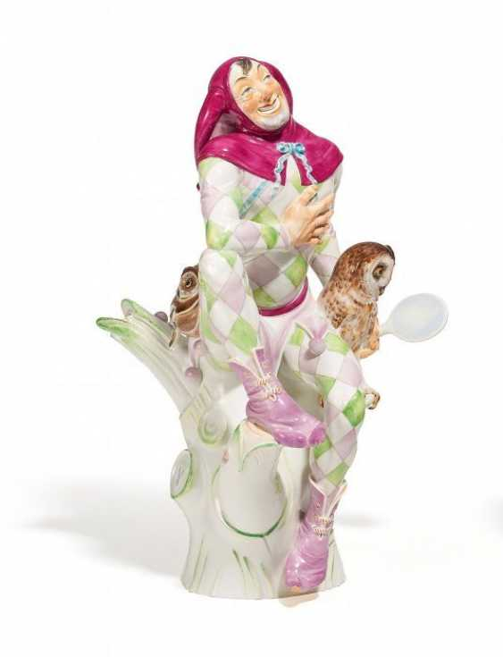 TILL EULENSPIEGEL. Meissen. 2004. Model Willi Münch-Khe, 1928. - photo 1