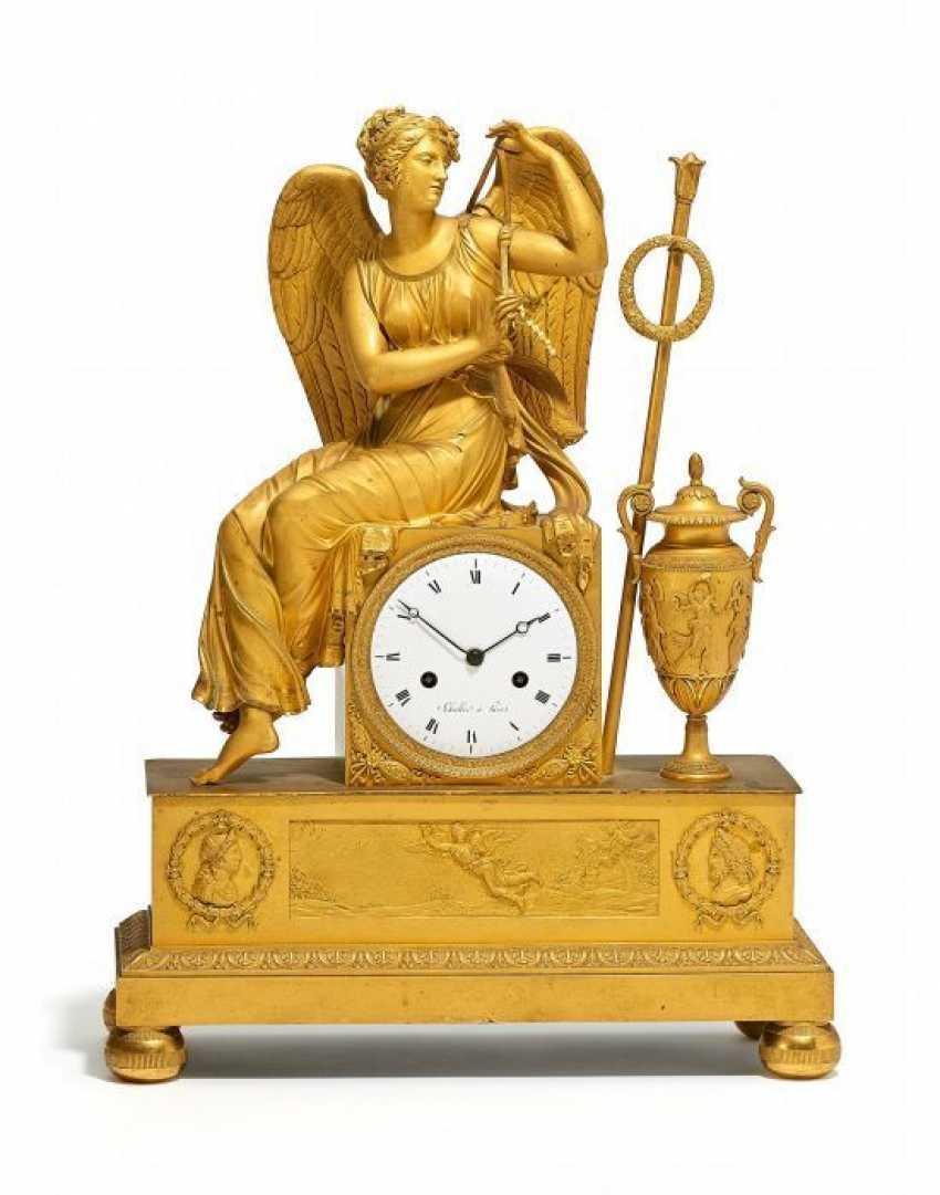 Large pendulum CLOCK WITH VENUS. Paris. Around 1825. Schüller. - photo 1