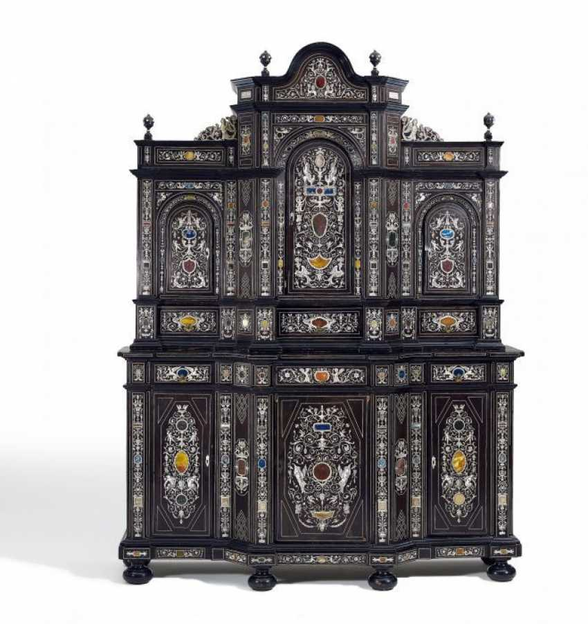 MAGNIFICENT add-on Cabinet, NAPOLEON III of France. Around 1870/80. - photo 1