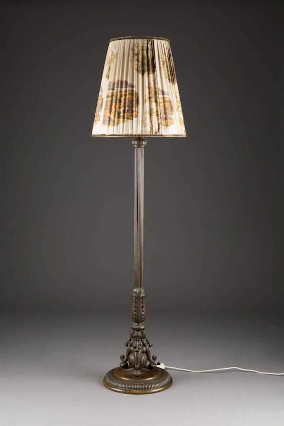 UNKNOWN image sculptor Active around 1900 in Germany, Austria figural floor lamp - photo 1