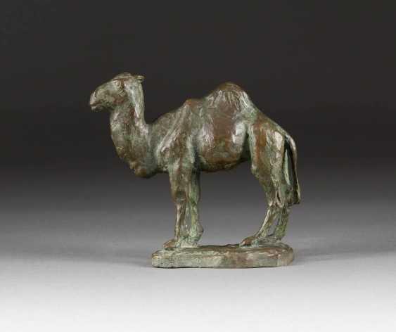 GERMAN sculptor Active 1. Half of the 20. Century Camel - photo 1