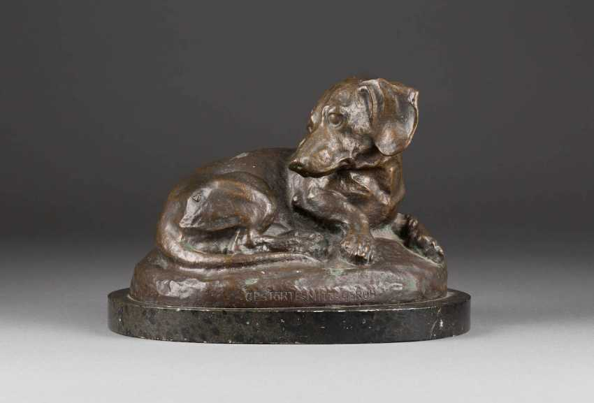 GERMAN sculptor Active in the beginning of 20. Century 'Disturbed Mittagsruh' - photo 1