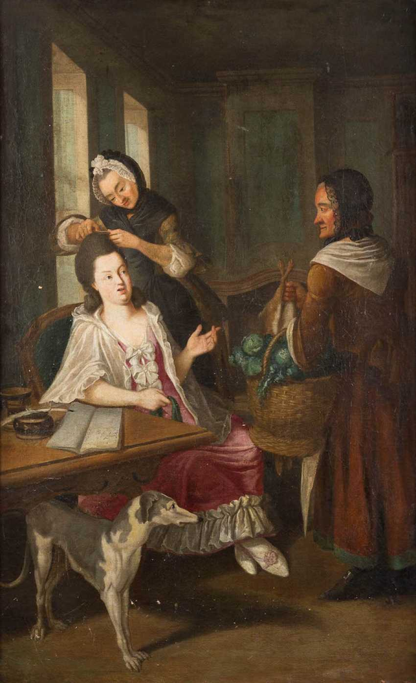 FRENCH Rococo painter to 1750/1770 - photo 1