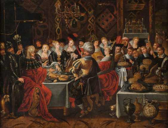 FRANS FRANCKEN THE YOUNGER (ATTR./WORKSHOP) 1581-Antwerp - 1642 Ibid. - photo 1
