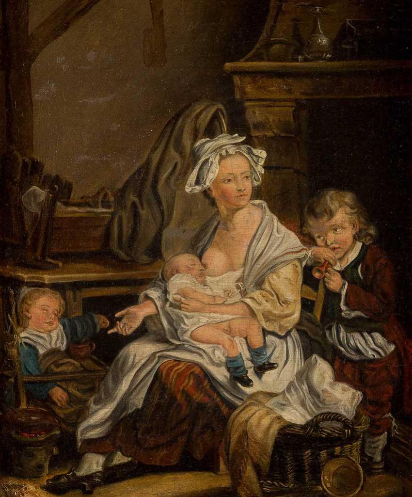 JEAN - BAPTISTE GREUZE (SUCCESSOR) 1725 Tournus - 1805 Paris - photo 1