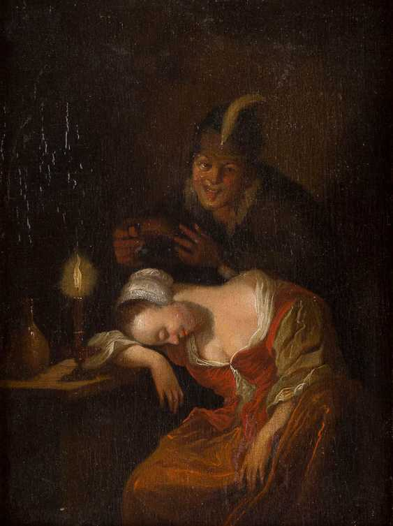 SCHALCKEN ГОДФРИД (ШУЛЬ) 1643 сделал (Северный Брабант) / Дордрехт - 1706 Гааге - фото 1