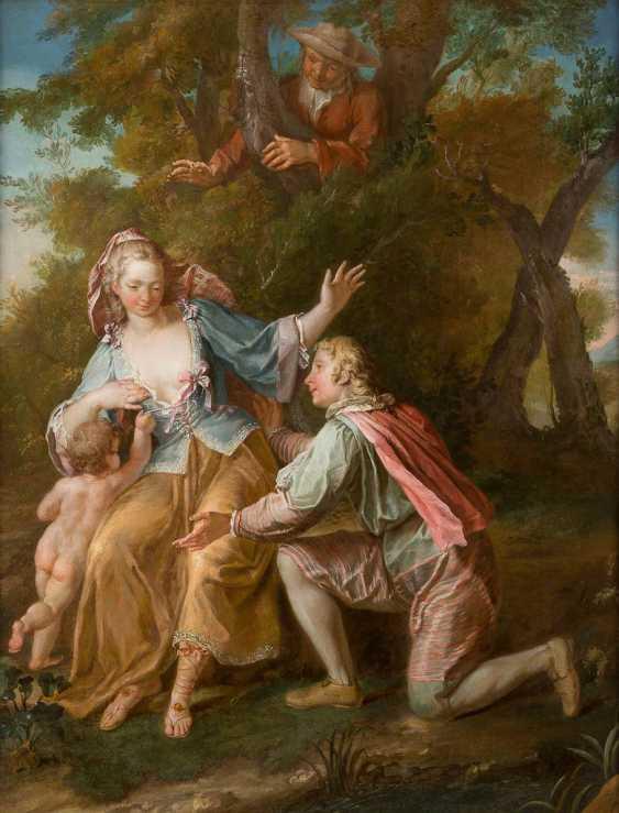 LOUIS-MICHEL VAN LOO Toulon 1707 - 1771 Paris - photo 1