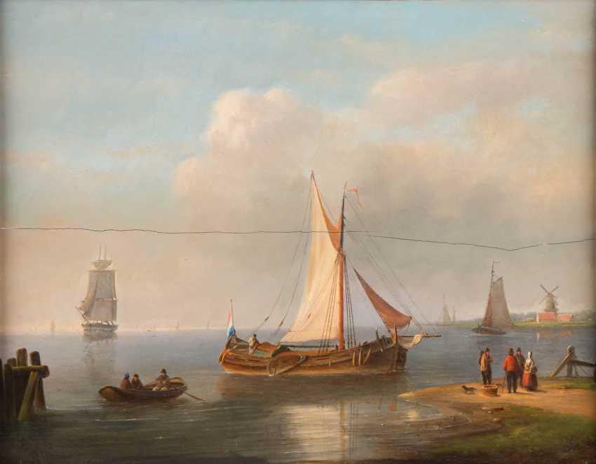 PETER HENDRIK THOMAS 1814 Bielefeld - 1866 Utrecht - photo 1