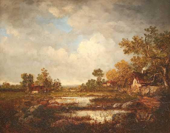 BRITISH landscape painter Active around 1870 - photo 1