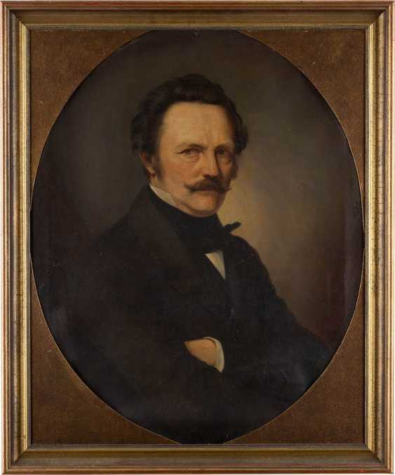 UNKNOWN portrait painter Active in the 19th century. Century - photo 1