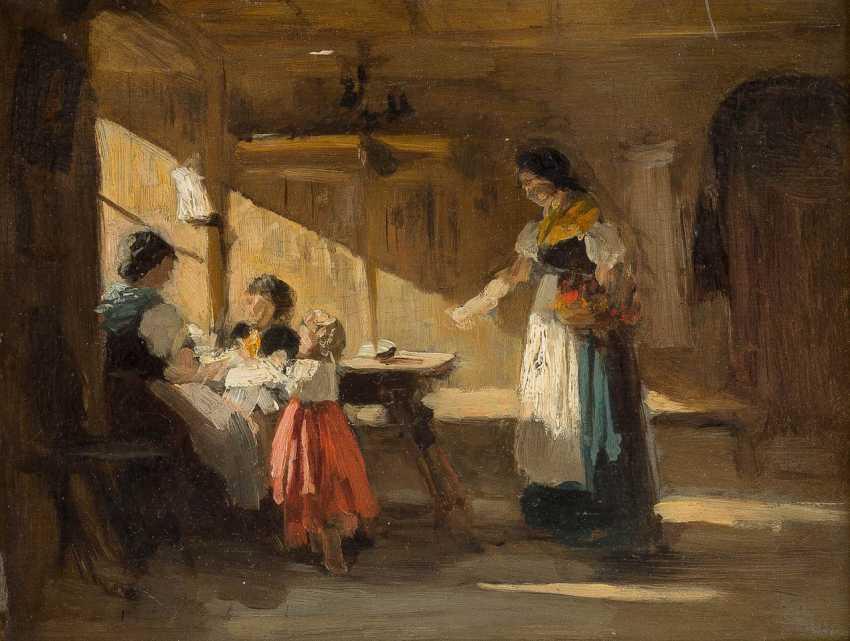 Southern German genre painter 19. Century - photo 1