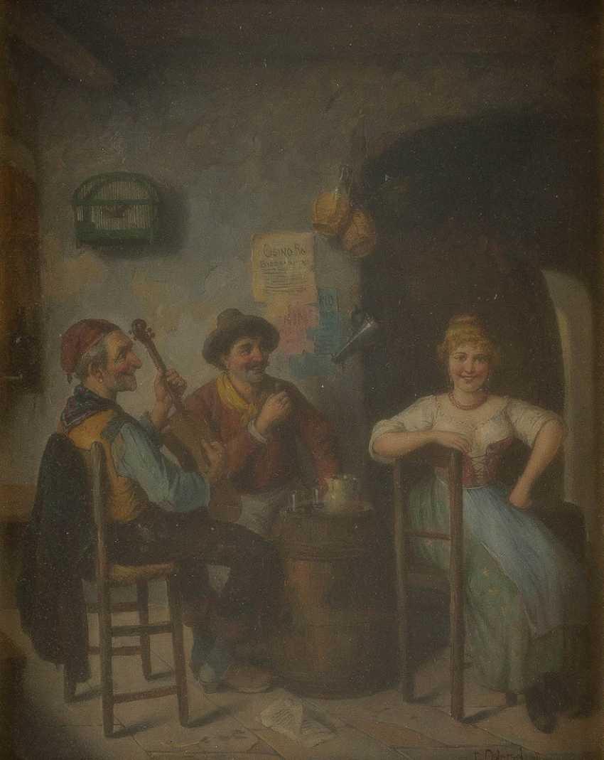 CARL OSTERSETZER 1850 Brody - 1914 Vienna - photo 1