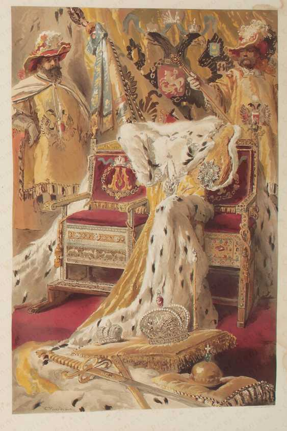 DESCRIPTION OF the CORONATION OF THEIR MAJESTIES to the IMPERIAL EMPEROR OF ALL THE RUSSIAS ALEXANDRE III AND EMPRESS MARIA FÉODOROVNA IN 1883