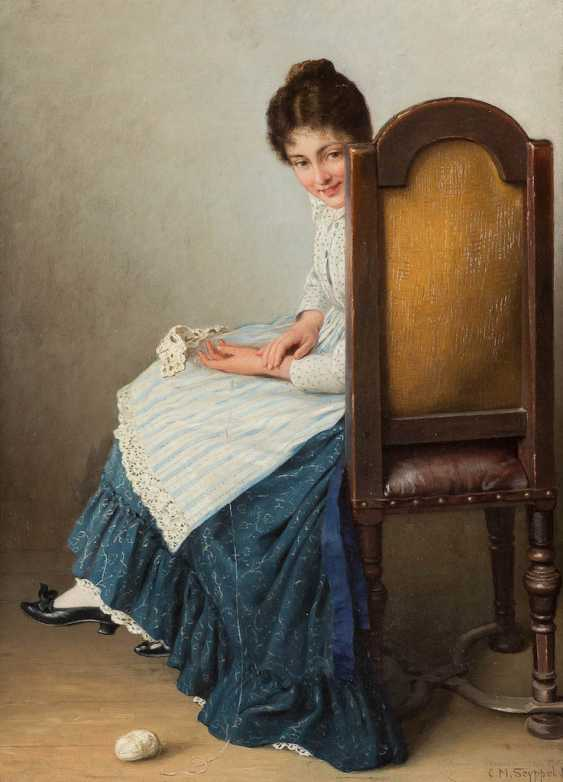 CARL MARIA SEYPPEL Düsseldorf 1847 - 1913 - photo 1