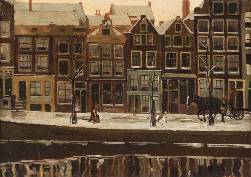 GEORG HENDRIK BREITNER (RADIUS) in 1857, Rotterdam - 1923 Amsterdam - photo 1