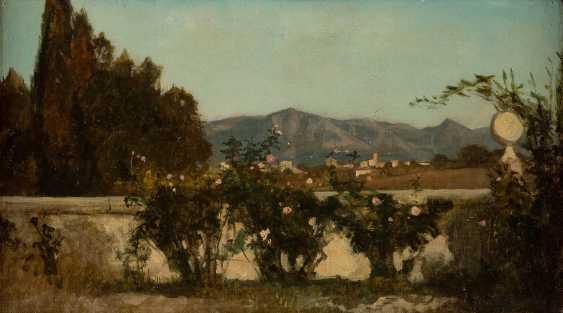 ITALIAN landscape painter Active 2. Half of the 19th century. Century - photo 1