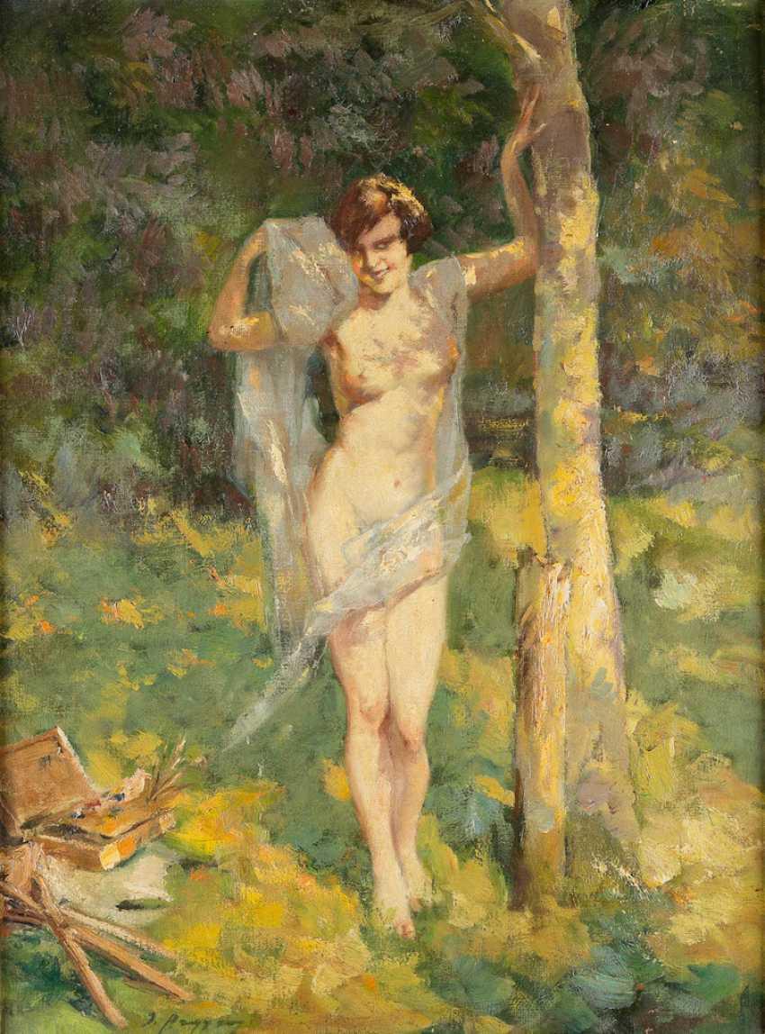 GERMAN late impressionist Act 1. Half of the 20. Century - photo 1