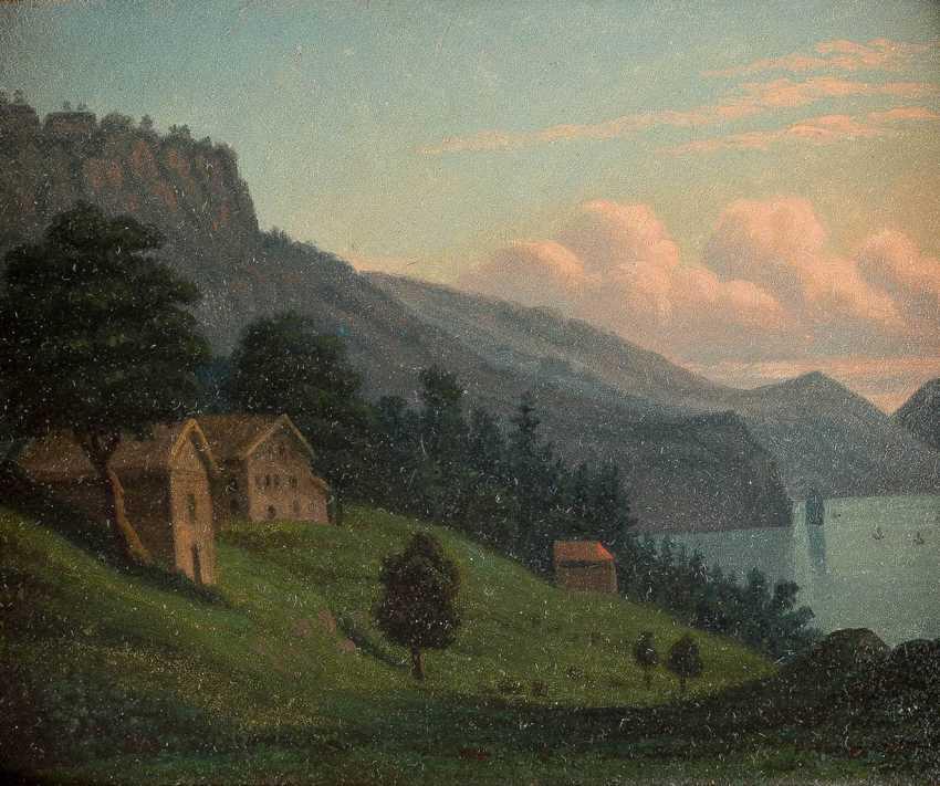 The SWISS landscape painter Active 1. Half of the 19th century. Century - photo 1