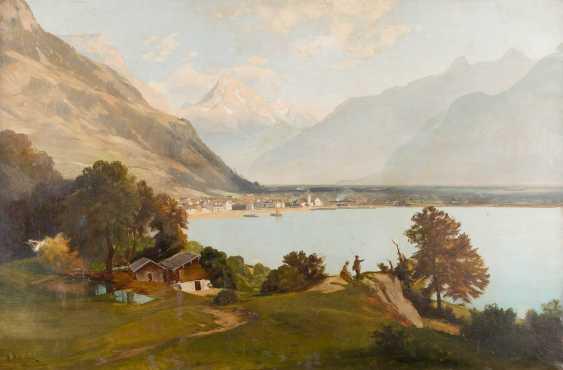 ALFRED METZENER 1833 Niendorf (Lauenburg) - 1905 Zweisimmen (Bern) - photo 1