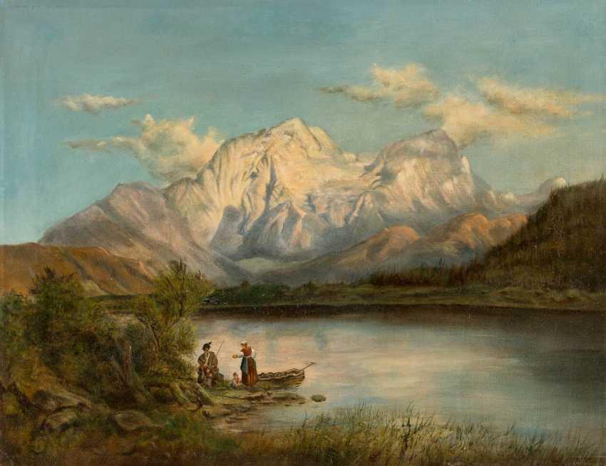 ANTON HANSCH (RADIUS) in 1813, Vienna - 1876 Salzburg - photo 1