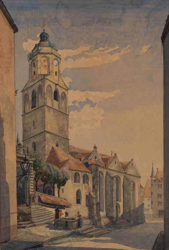 GERMAN WATERCOLORIST Active 1. Half of the 19th century. Century - photo 1
