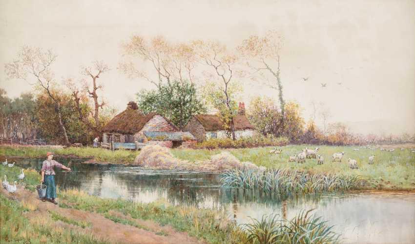 FREDERIC SHAW 1848 - 1923 Englischer Aquarellist - photo 1