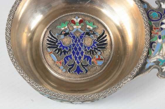 CUP SILVER-GILT. By ISAKOFF, Saint-Petersburg