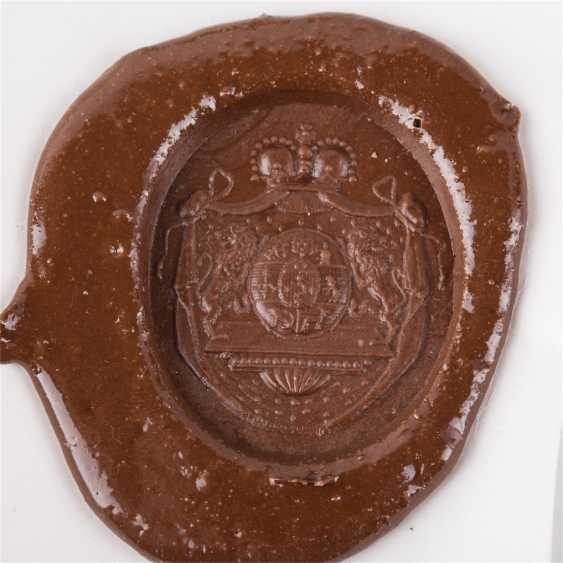 Personal seal of Prince Nikolai Borisovich Yusupov - photo 3