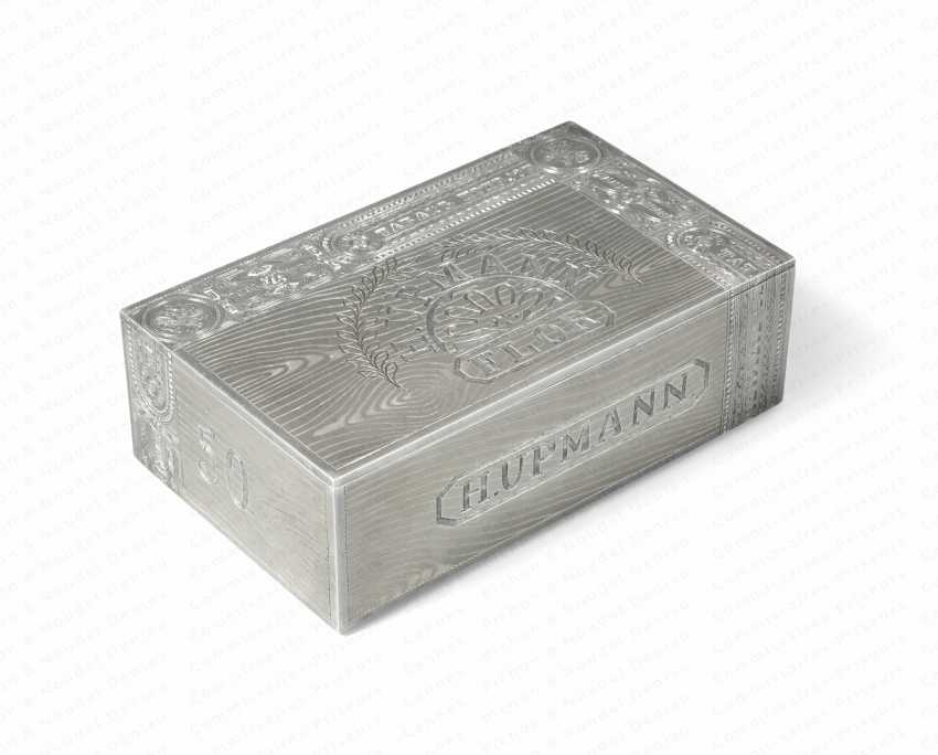 LARGE CIGAR BOX OF MONEY