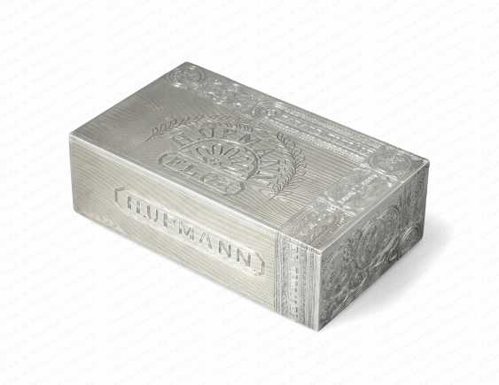 LARGE CIGAR BOX OF MONEY - photo 1