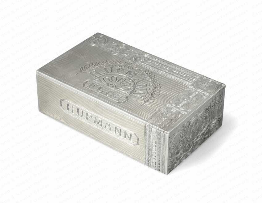 LARGE CIGAR BOX OF MONEY - photo 1