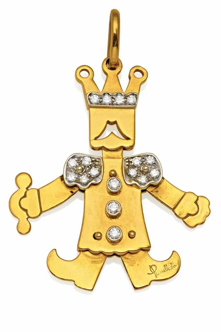 Diamond Pendant. Pomellato - photo 1