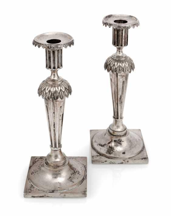 Pair Of Empire Candlesticks - photo 1