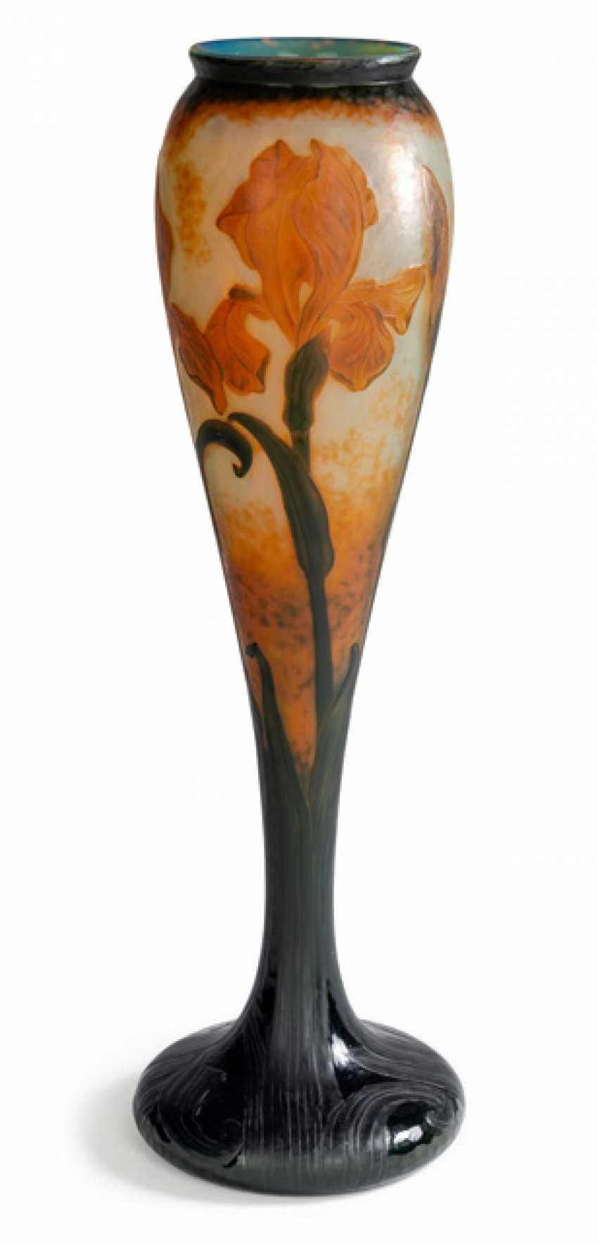 Grosse Martélé-Vase 'Iris' - photo 1