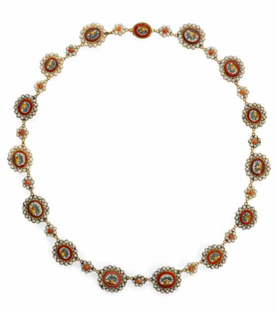 Petite Micro-Mosaic Necklace - photo 1