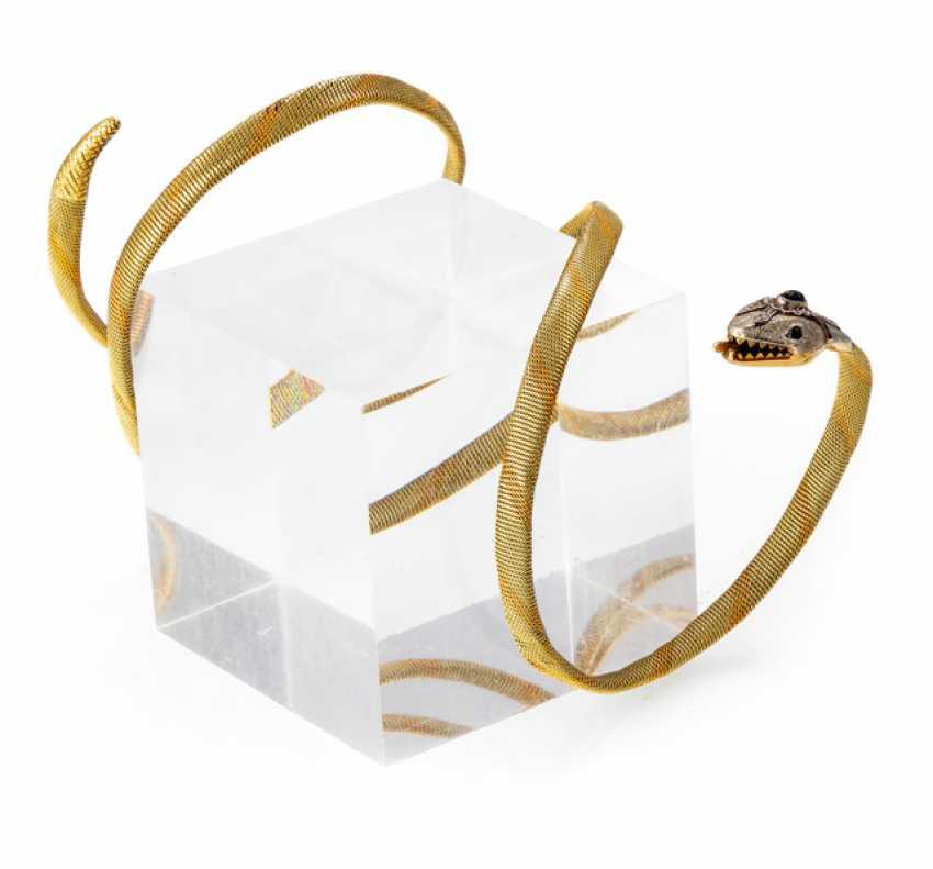 Snake bangle bracelet - photo 1