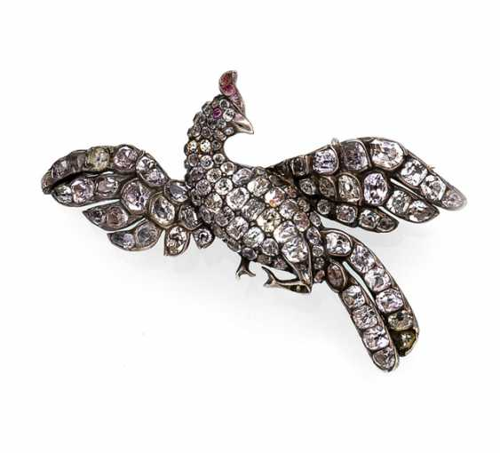 Rare collectors brooch in the shape of a bird - photo 1