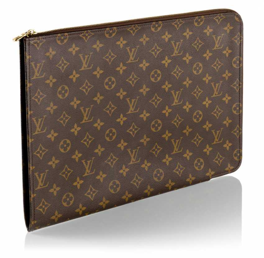 Louis Vuitton Monogram Canvas Documents Folder - photo 1