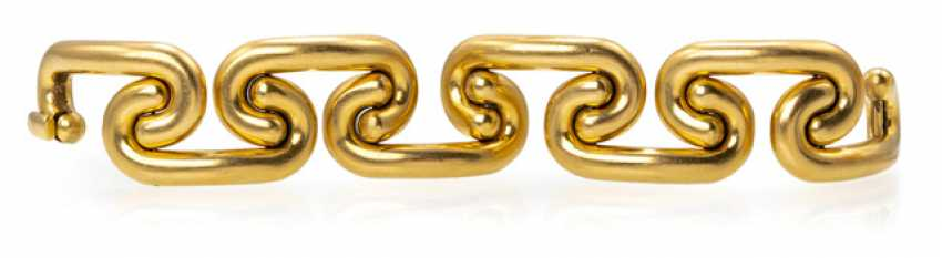 Wide Gold Bracelet - photo 1
