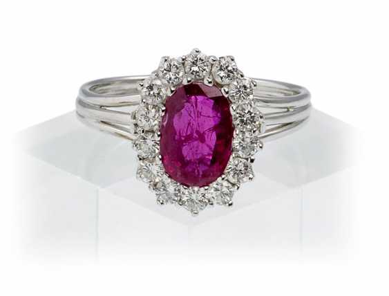 Rubin-Diamant-Ring - photo 1