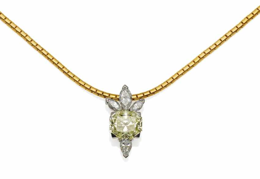 Diamond Pendant Chain.  - photo 1