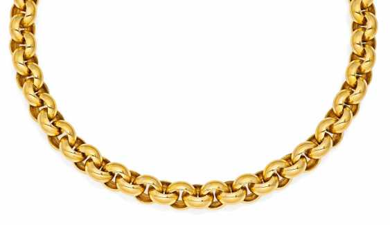 Gold-Collier.  - photo 1