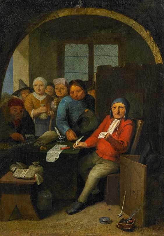 Dusart, Cornelis. When It Comes To Money Changer. - photo 1